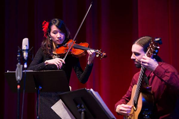PanAm Duo at UNC Gala