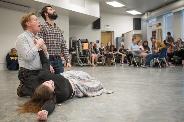 UNC Opera Theatre Candide Rehearsal