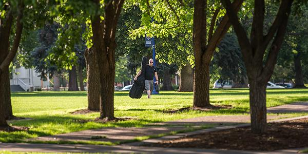 Spend time on the UNC campus while studying bluegrass and folk music