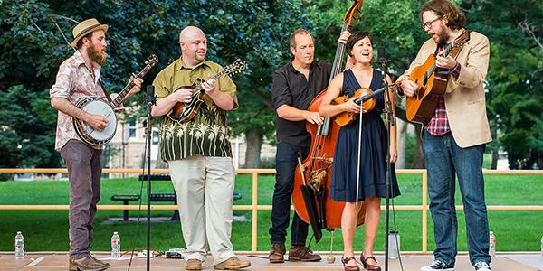 The UNC Faculty Bluegrass Ensemble