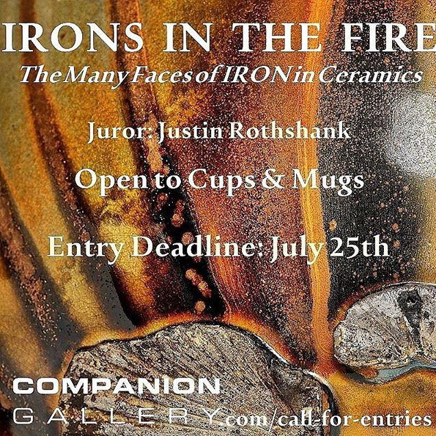 Irons in the Fire: The Many Faces of Iron in Ceramics