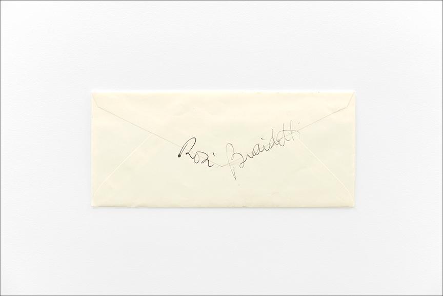 "Rosi Braidotti Letter, Archival Pigmented Print, 8 x 12"""
