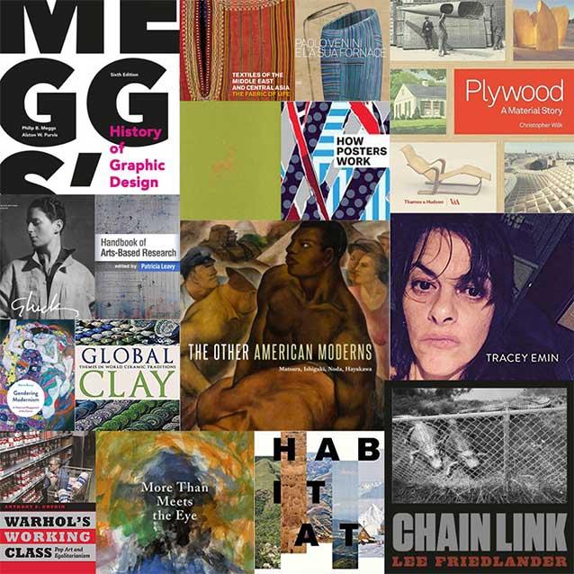UNC Libraries April 2018 New Art & Design Titles