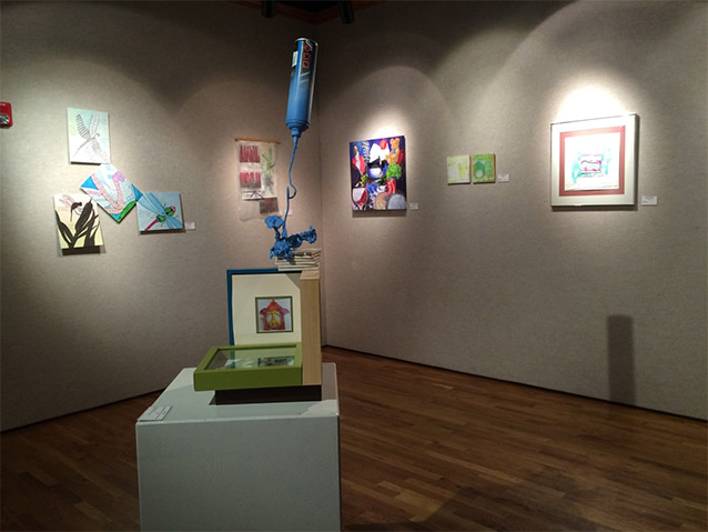2015 Colorado Art Education Association Exhibit