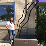 Lili Silva, Greeley Sculpture on Loan program