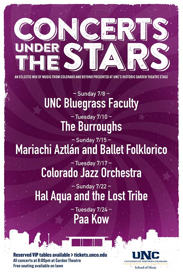 Concerts Under the Stars 2018