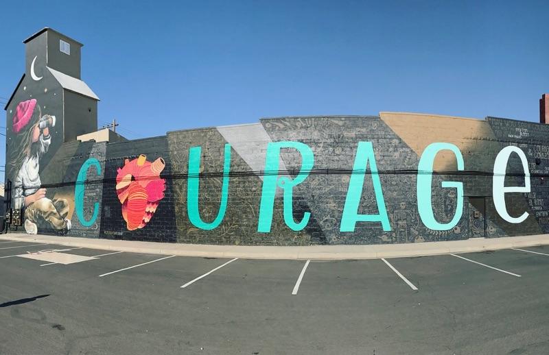 Mural by Armando Silva