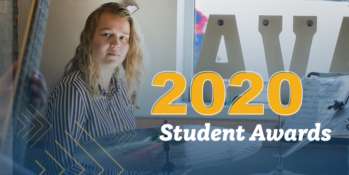 2020 School of Music Distinguished Student Awards