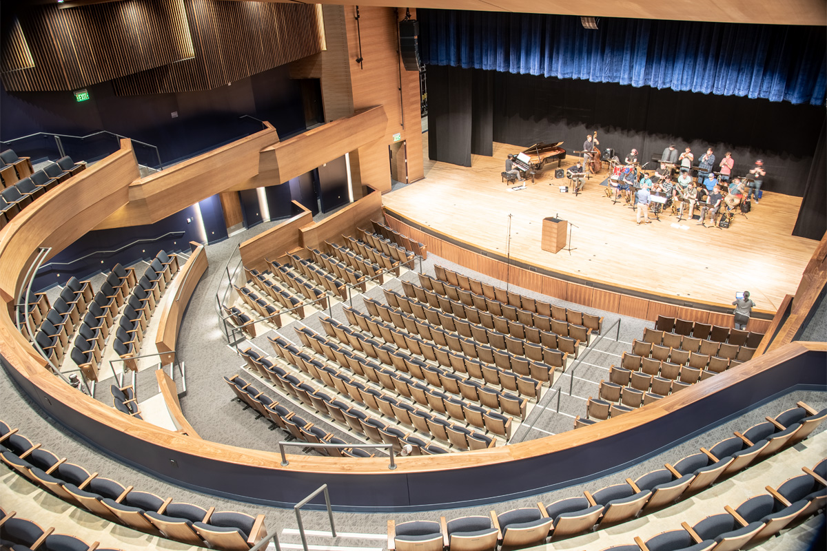 Campus Commons Performance Hall