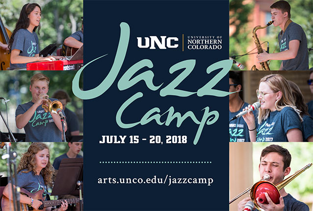 UNC Jazz Camp Graphic
