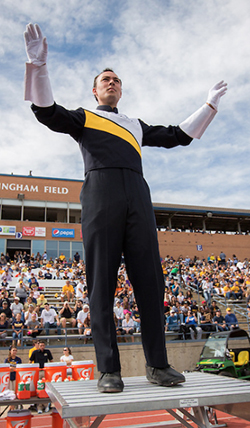 Marching Band Student Conductor