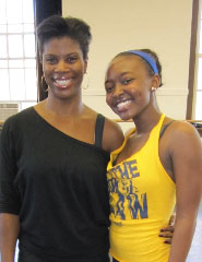 Dierdra Goodwin and Aisha Jackson